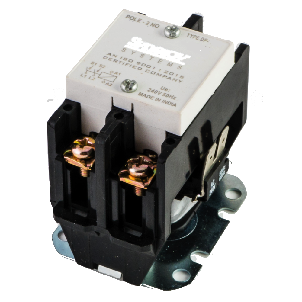 16amps Double Pole Contactor For On Off Control Of Loads Manual Guide